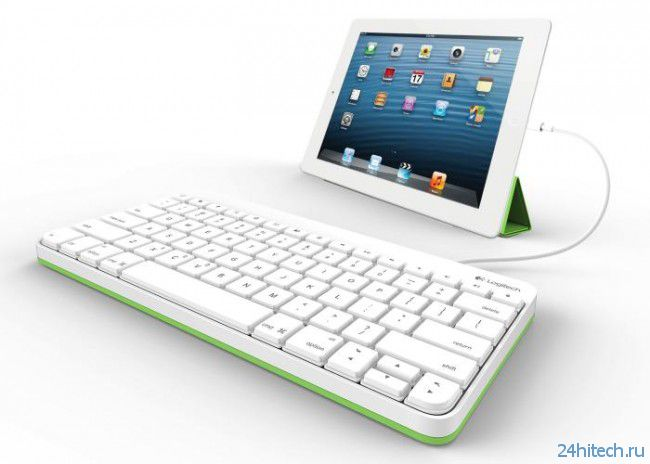 Logitech удивила проводной iPad-клавиатурой для учебы