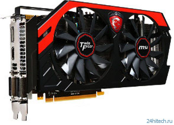 MSI добавит GeForce GTX 770 в линейку Gaming Series