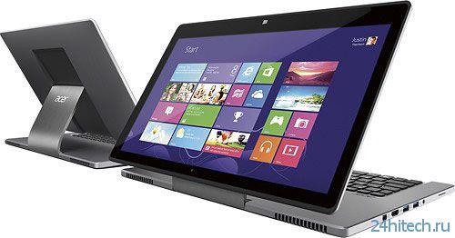 Ноутбук Acer Aspire R7 использует новый тип трансформации