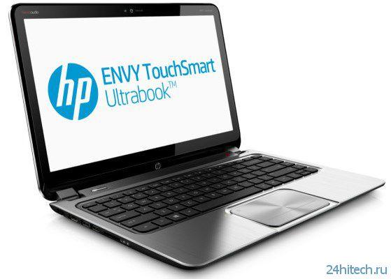 Ноутбук HP Envy TouchSmart 14 с разрешением дисплея 3200 х 1800