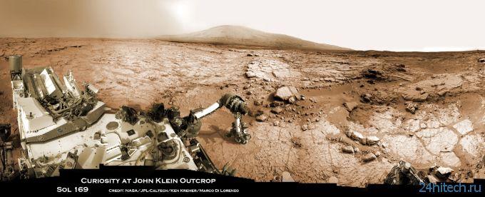 Новая марсианская панорама
