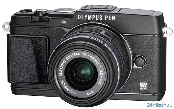 Olympus Pen E-P5 – топовая беззеркалка в ретро-стиле (5 фото)