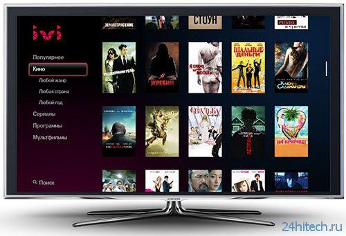Онлайн-кинотеатр ivi.ru начал переход на Full HD