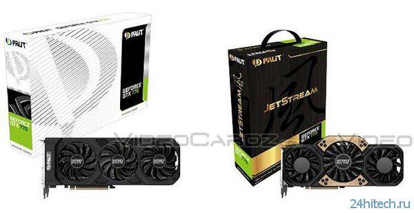Palit выпустит три версии видеокарты GeForce GTX 770