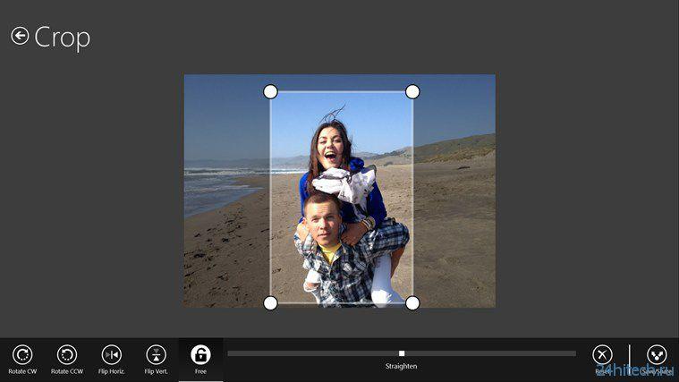 Photoshop Express для Windows 8/RT появился в Windows Store