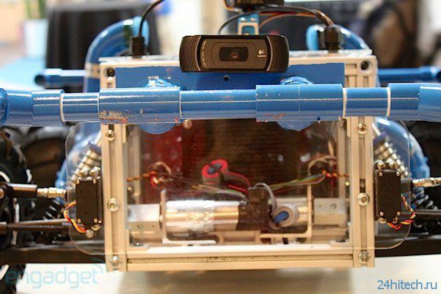 Радиомодель для лазертаг боев (13 фото + видео)