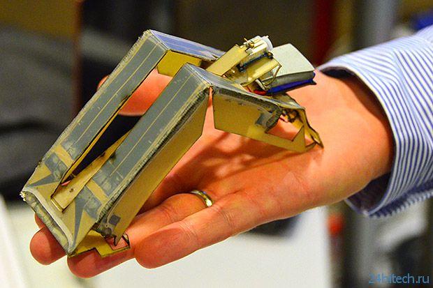 Самосборный робот-оригами (видео)