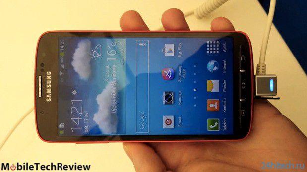 Samsung Galaxy S4 Active теперь и на видео