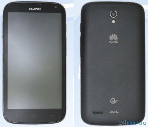 Смартфон Huawei G610 оснащается большим экраном диагональю 5,4 дюйма с низким разрешением