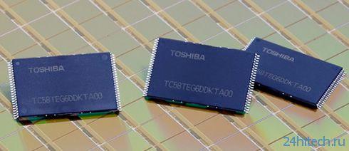 Toshiba выпустила 64-Гбит NAND-чип с использованием нового техпроцесса