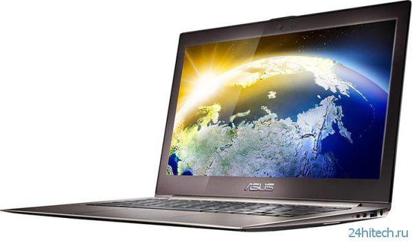 Ультрабук ASUS ZENBOOK Infinity c крышкой из защитного стекла Corning Gorilla Glass 3 появится на Computex 2013