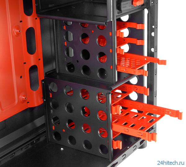 В корпусе Cougar Archon форм-фактора Midi-Tower можно разместить процессорный кулер высотой до 165 мм