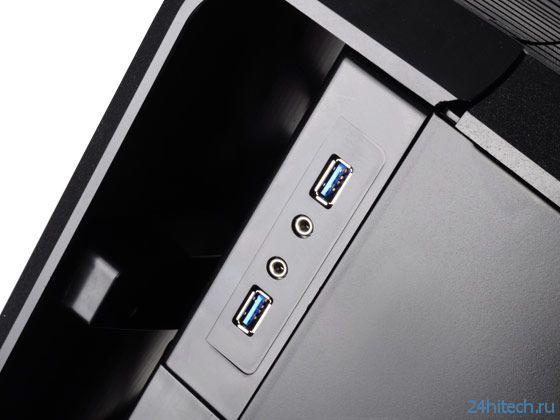 В корпусе SilverStone Raven RV04 установлены два вентилятора Air Penetrator размером 180 мм