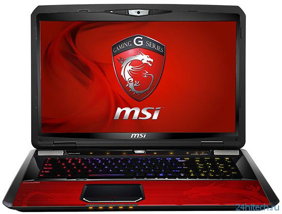 В ноутбуке MSI GT70 Dragon Edition 2 используется 3D-карта Nvidia GeForce GTX 780M