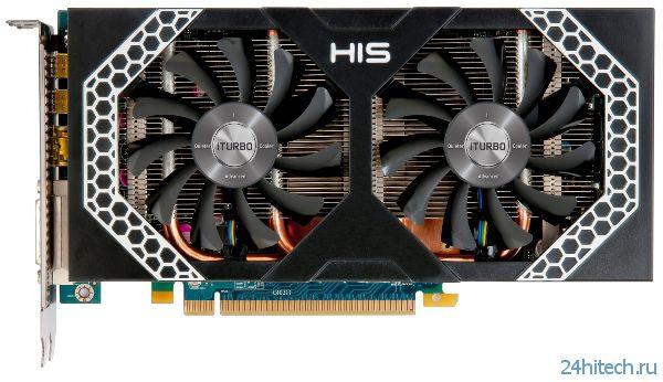 Видеокарта HIS 7850 iPower IceQ X² с улучшенной системой охлаждения