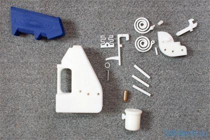 Власти США потребовали убрать из Сети «печатаемый» пистолет