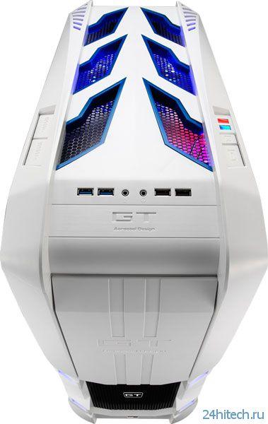 Корпуса для ПК Aerocool GT-S вмещают платы размером до XL-ATX и E-ATX
