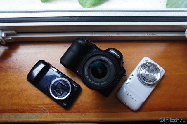 Samsung Galaxy NX - камера с большой матрицей, 3G/LTE и андроидом