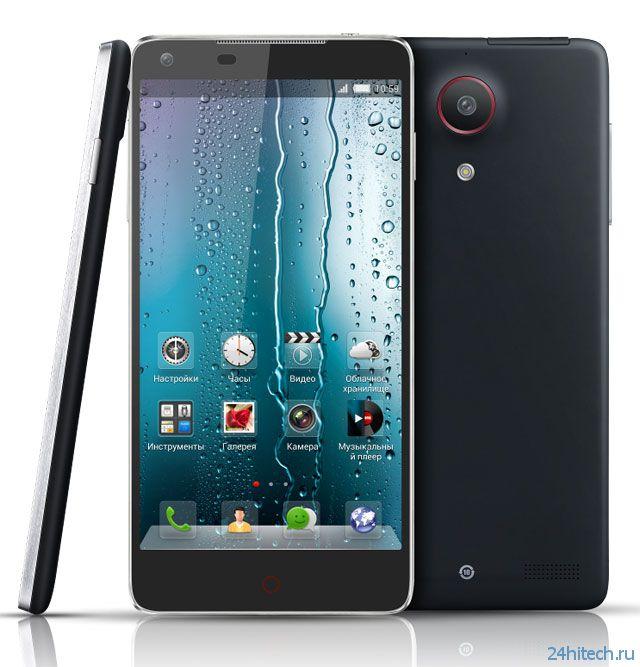 Смартфон ZTE nubia Z5 анонсирован в России