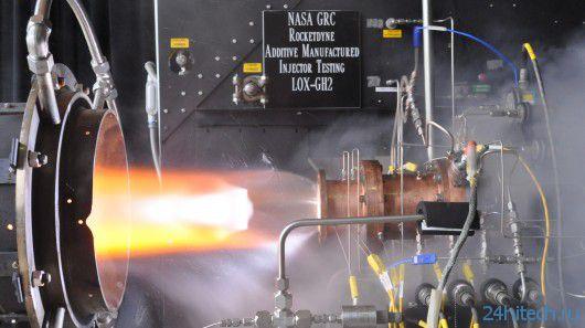 3D-принтеры и тест детали ракетного двигателя