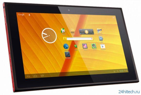Android-планшет Wexler.TAB 10iS с IPS-экраном появился в России