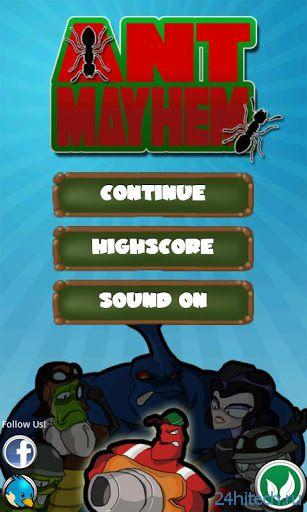 Ant Mayhem 1.0.1. Война муравьев.