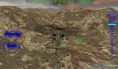 Apache Chopper Pilot 3D HD 1.2