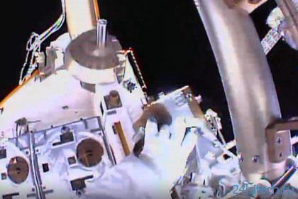 Астронавты МКС вышли в космос для прокладки локальной сети