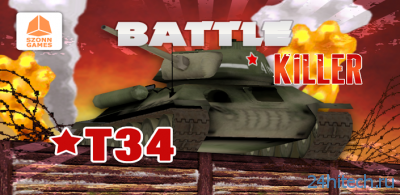 Battle Killer T34 3D 1.0.0