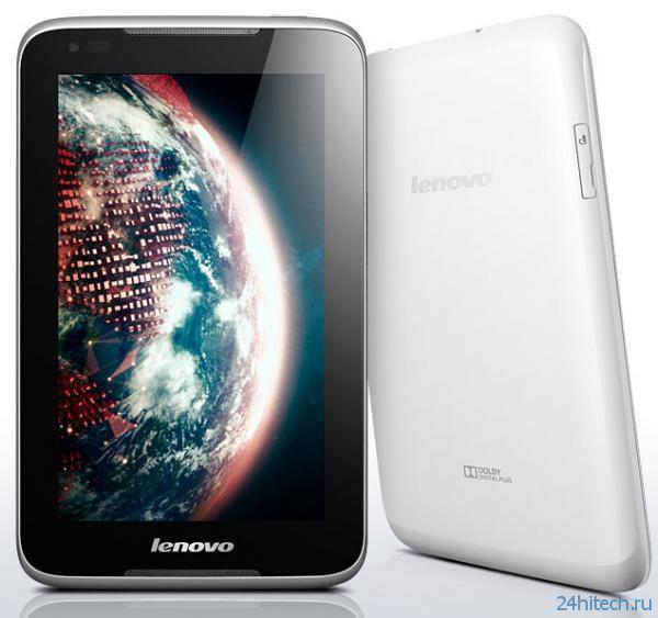 Бюджетный хит-планшет Lenovo А1000 выведен на украинский рынок