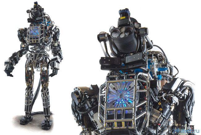 Человекоподобный робот Atlas: DARPA показала будущее робототехники
