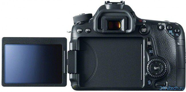 Canon представила DSLR-камеру EOS 70D для видеосъемки