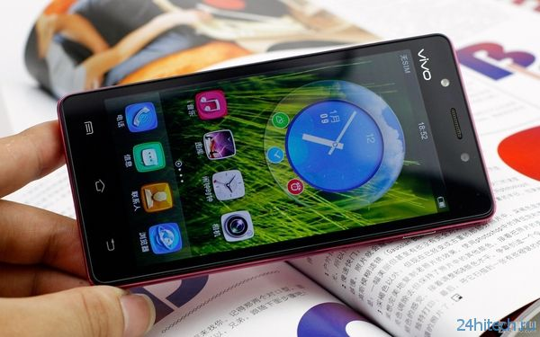 Дамский смартфон Vivo Y19t на платформе Android 4.2.1