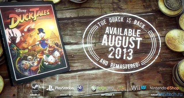 DuckTales: Remastered выйдет в августе, также доступны дневники разработчиков