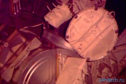 Экипаж МКС прервал выход в космос из-за воды в шлеме астронавта