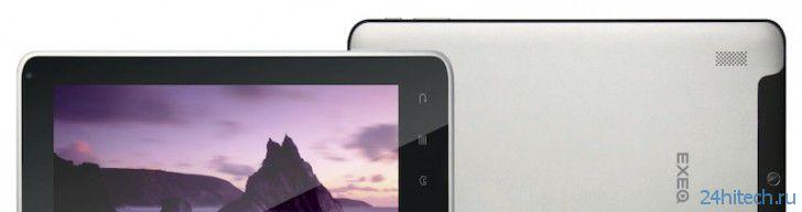Exeq P-822: восьмидюймовый планшет 3G с двухъядерным процессором