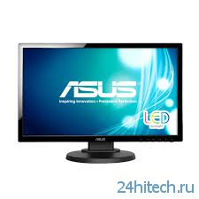 Full HD монитор ASUS VE228TL с эргономичной подставкой