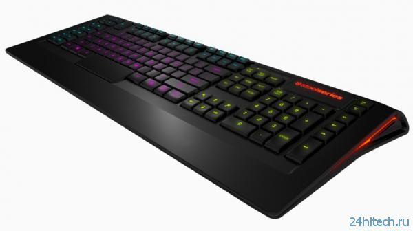 Функциональная игровая клавиатура SteelSeries Apex доступна за ,99