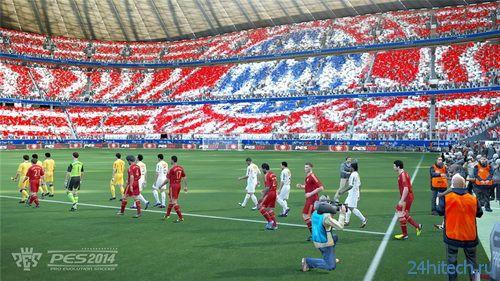 Футбольный симулятор PES 2014 выйдет 24 сентября
