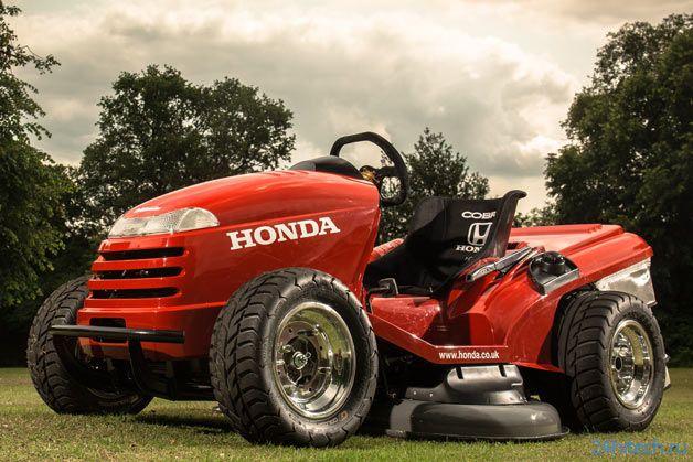 Газонокосилка Honda стала спорткаром