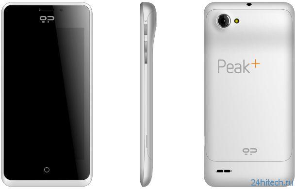 Geeksphone начала принимать заказы на смартфон Peak+ с Firefox OS