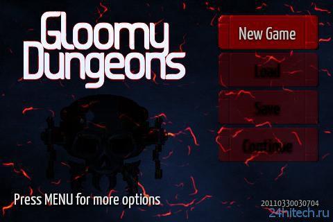 Gloomy Dungeons 3D 2013.01.24.1714. 3D-экшн, клон Wolf 3D