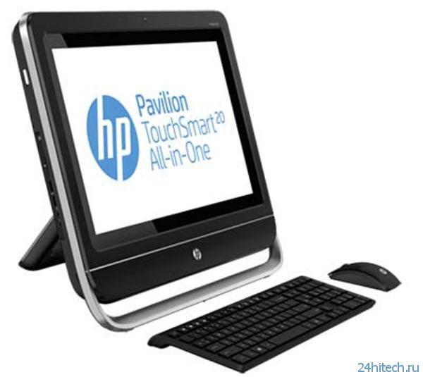 HP Pavilion TouchSmart 20-f230jp – новый сенсорный моноблок компании Hewlett Packard