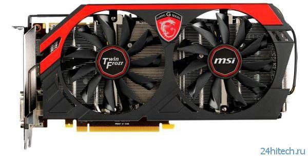 Игровая видеокарта MSI GeForce GTX 770 GAMING (N770 TF 4GD5/OC) с 4-мя ГБ памяти