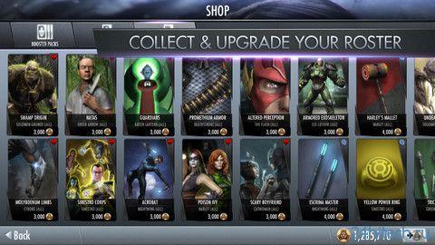 Injustice: Gods Among Us 1.0. бесплатная коллекционная карточная игра
