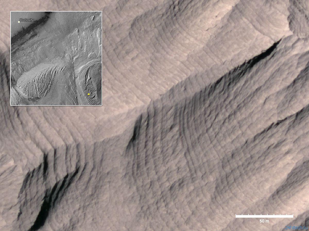 Кадр Дня: слои марсианской горы Шарпа