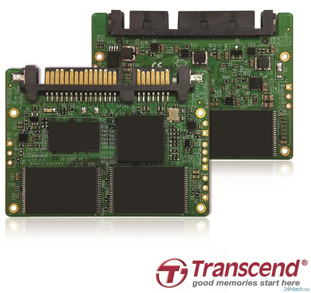 Компактный высокоскоростной твердотельный накопитель Transcend HSD740 с интерфейсом SATA 6 Гбит/с
