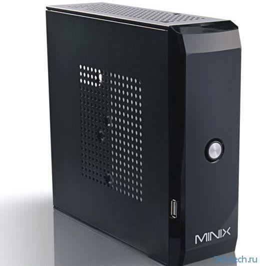 Компьютер небольшого формфактора Minix Mini HD