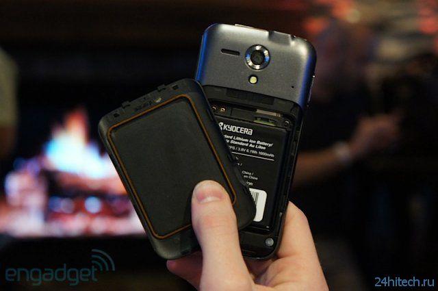 Kyocera Hydro Edge - бюджетный водоустойчивый смартфон