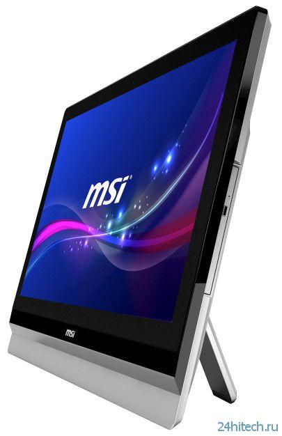 MSI Adora24 – ультратонкий моноблок с мобильной видеокартой NVIDIA GeForce GT740M